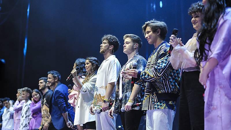El espectáculo 'OT 2020: Díselo a la vida' arranca con gran éxito en el WiZink Center de Madrid