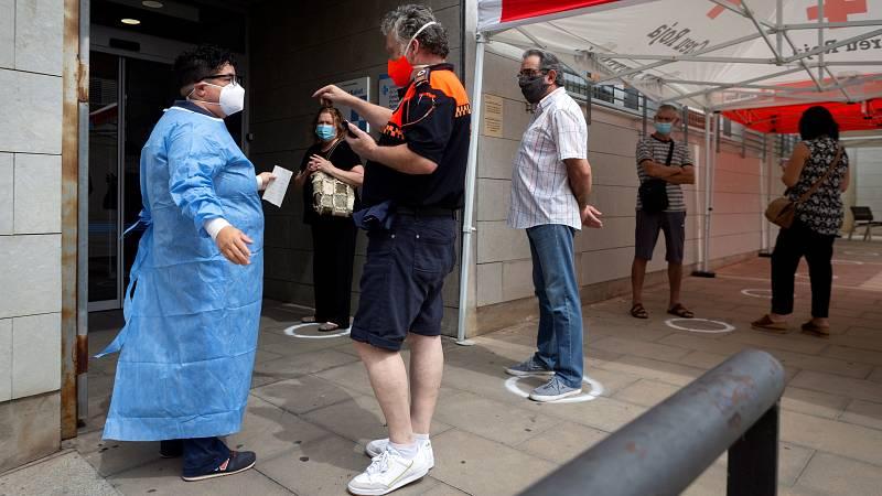 Los contagios suben hasta los 1.690 en las últimas 24 horas sin contar Madrid