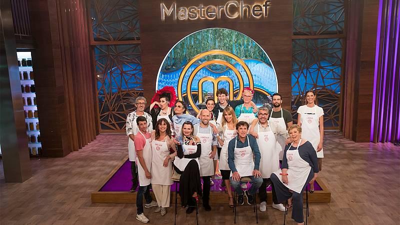 Los 16 aspirantes de 'MasterChef Celebrity 5'
