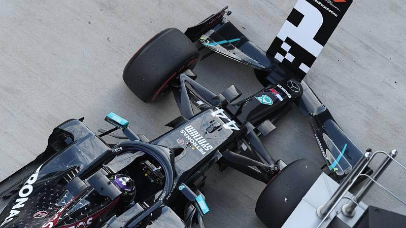 Imagen: Lewis Hamilton saldrá desde la primera posición en Rusia
