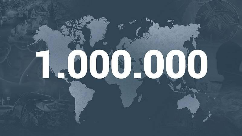 El mundo supera el millón de miertos con coronavirus