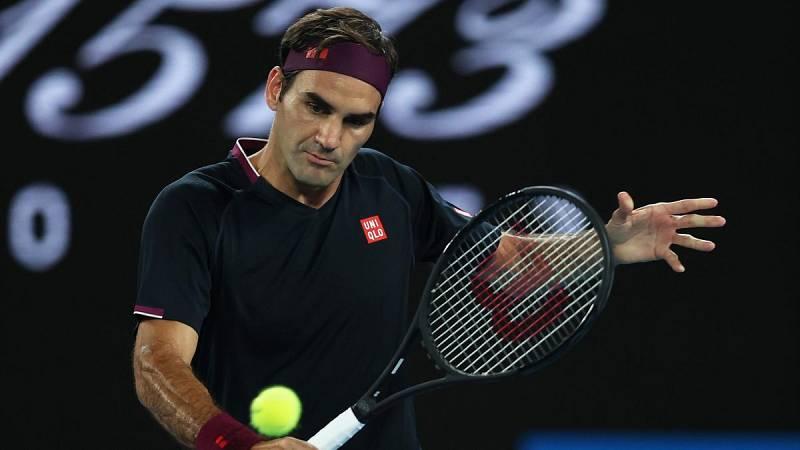 El tenista suizo Roger Federer en una de sus participaciones en el Abierto de Australia.