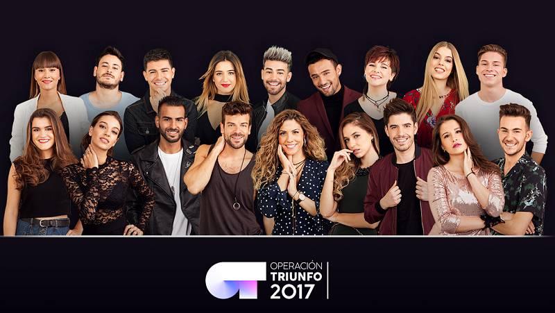 Los concursantes de OT 2017
