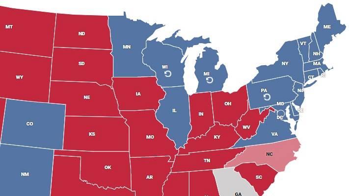 Biden alcanza la Casa Blanca levantando un nuevo 'muro azul' en Pensilvania, Michigan y Wisconsin con los jóvenes