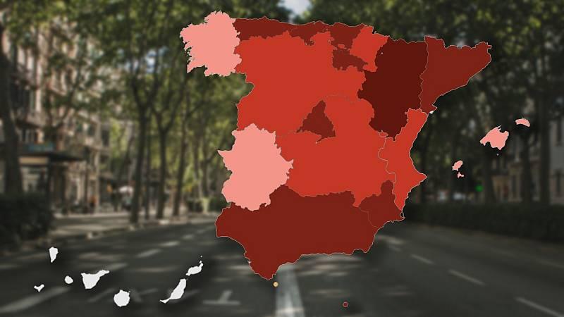 ¿Cómo es el confinamiento en cada comunidad?: 12 autonomías, Ceuta y Melilla cierran sus territorios