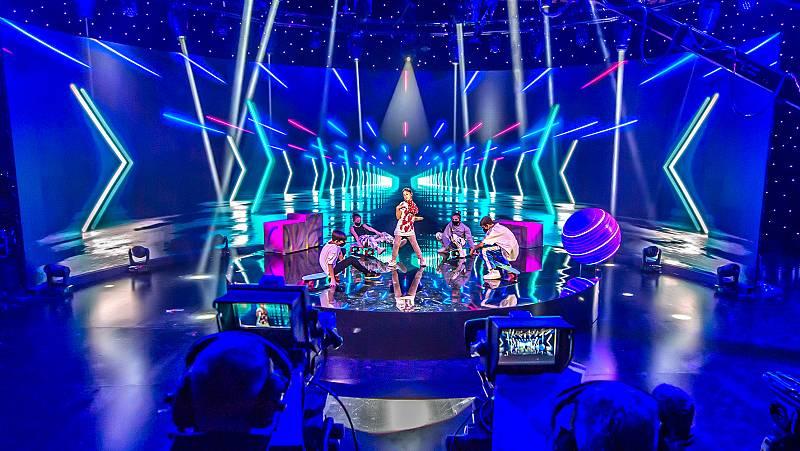 Ensayo de Soleá para Eurovisión Junior 2020