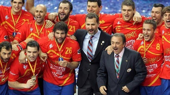 Imagen de archivo de la final del Campeonato del Mundo de balonmano de Barcelona (2013)