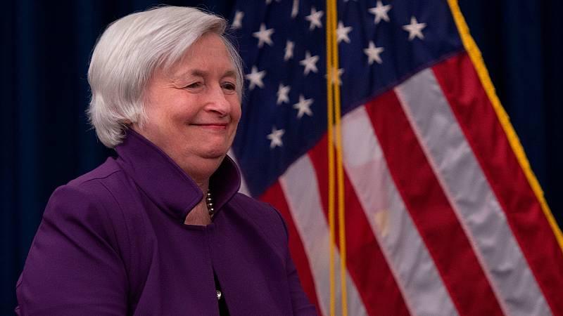 Janet Yellen, futura secretaria del Tesoro, en 2017