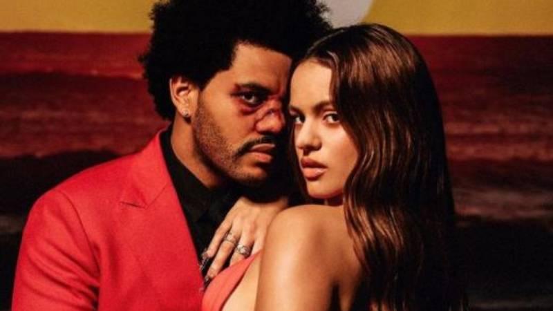 """Rosalía y The Weeknd sorprenden con el remix de """"Blinding Lights"""""""