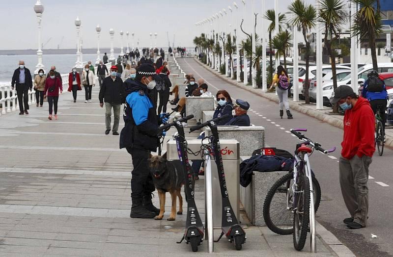 La incidencia acumulada en España baja hasta 231 casos y se sitúa en niveles de inicios de septiembre