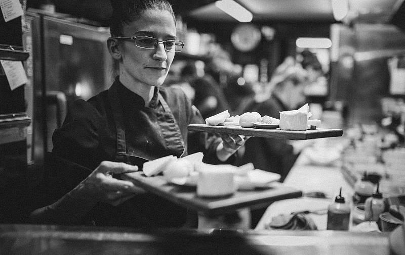 La cocinera Maria Nicolau