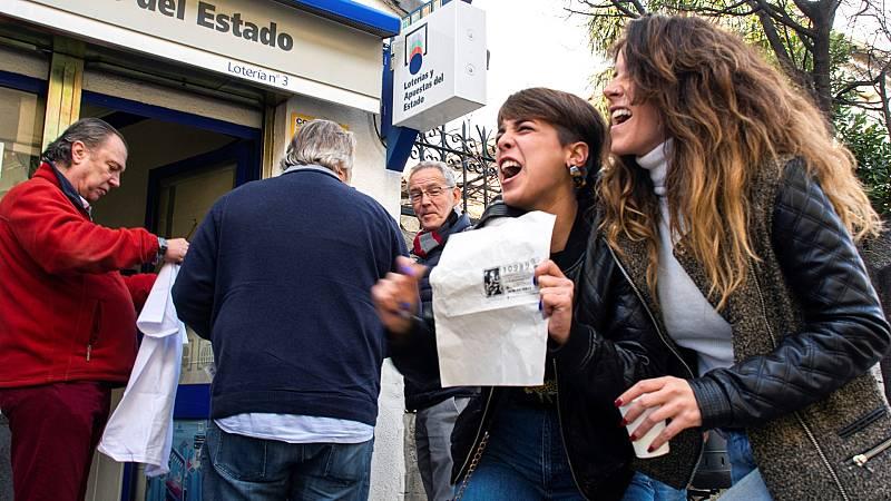 Los premios de hasta 40.000 euros del Sorteo de la Lotería de Navidad estarán exentos de impuestos este año