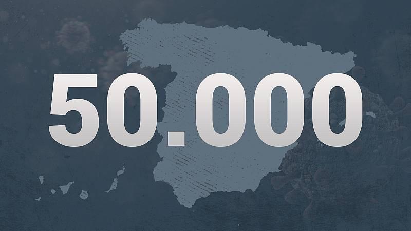 La COVID-19 se ha cobrado la vida de unas 50.000 personas en España