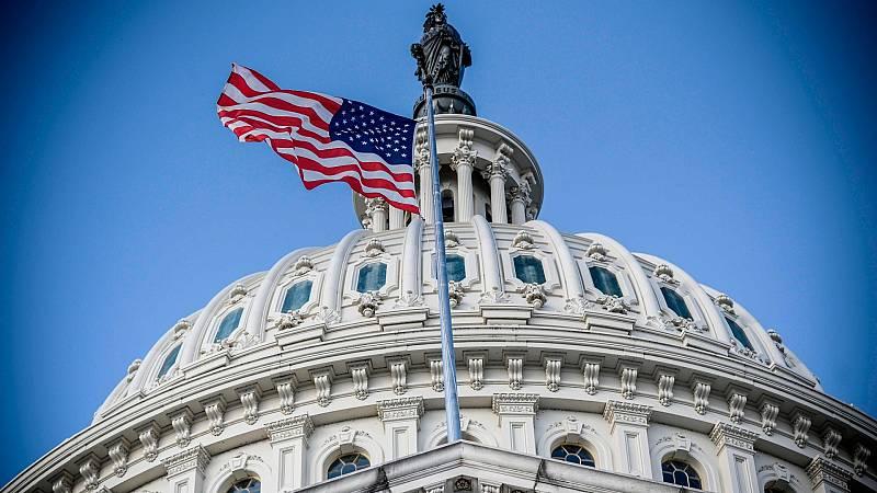 Cúpula del edificio del Capitolio de los EE.UU.