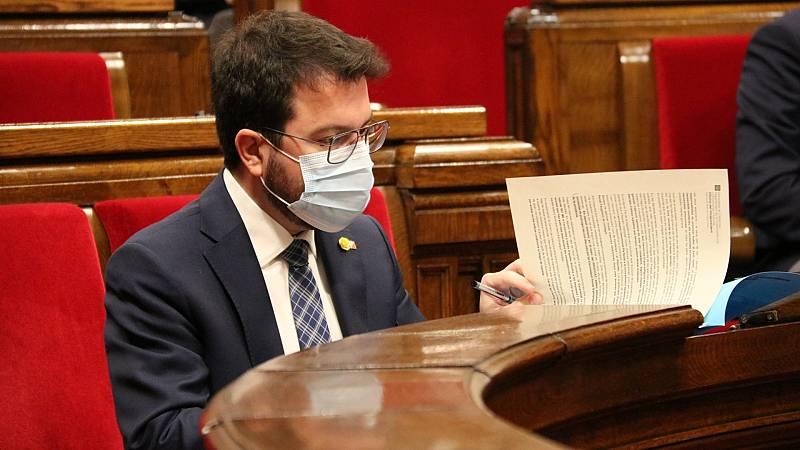 Pere Aragonès proposa que les eleccions se celebrin el 30-M