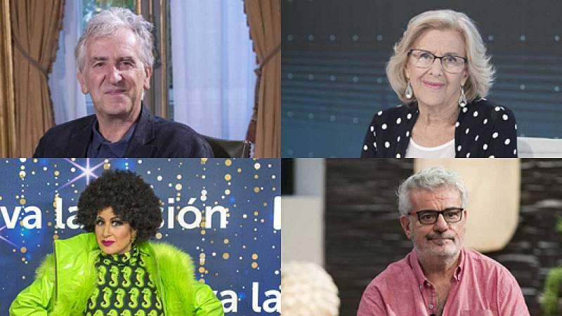Juan Luis Arsuaga, Manuela Carmena, Terremoto de Alcorcón y Millán Salcedo