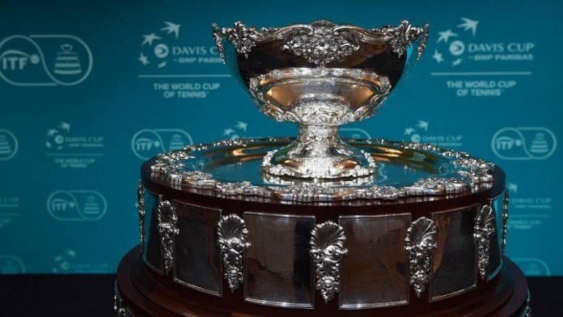 Imagen de archivo de la Copa Davis.