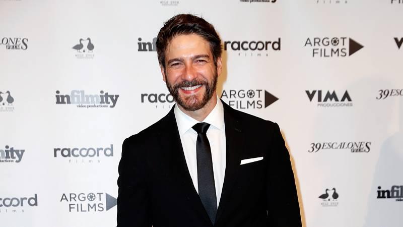 El actor Félix Gómez en la premiere de la película 'Vampus Horror Tales'.