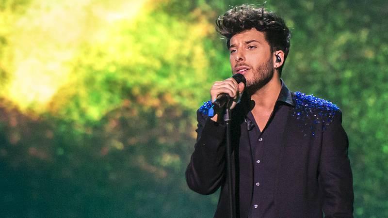 """Blas Cantó interpreta """"Amar pelos dois"""" en 'Destino Eurovisión'"""