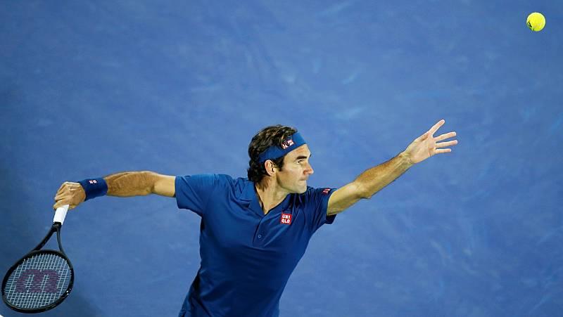 Imagen del tenista Roger Federer