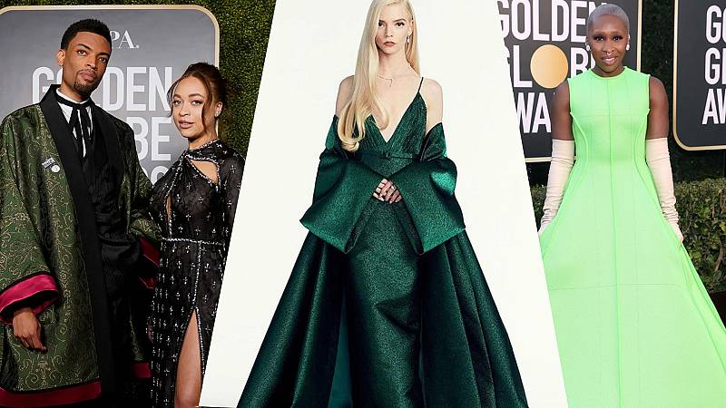Los mejores 'looks' de los Globos de Oro 2021