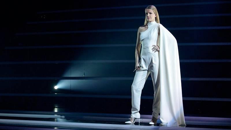 """Ana Sokli¿, representante de Eslovenia, cantará """"Amen"""""""