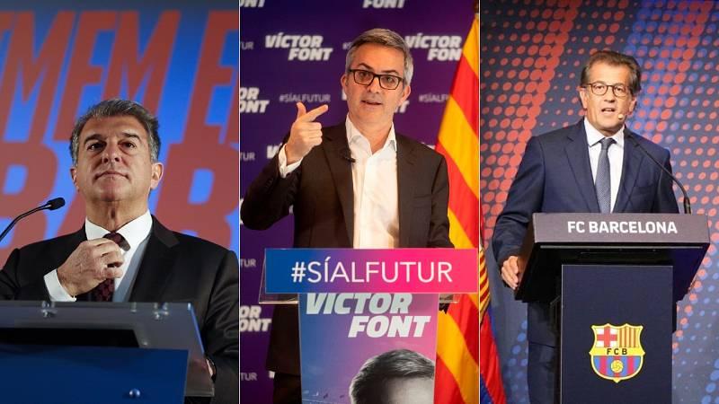 #ENLISTA: Conoce a los candidatos y sus propuestas para las elecciones en el Barça