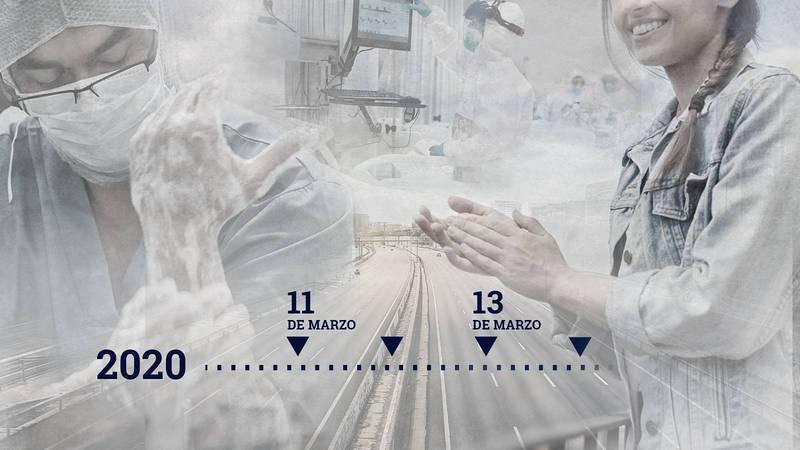 Se cumple un año de que el Gobierno declarase en España el estado de alarma y el confinamiento para hacer frente a la pandemia de la COVID-19.