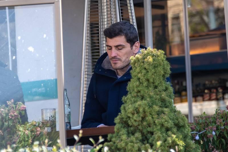 Iker Casillas se refugia en sus más allegados