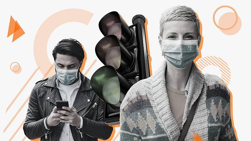 El semáforo epidemiológico es una herramienta del Ministerio de Sanidad para conocer en qué nivel de riesgo está cada provincia.