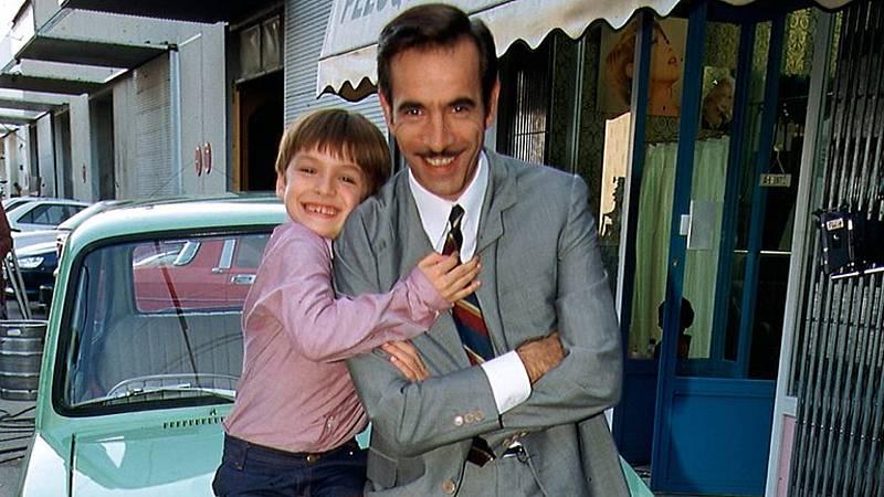 Antonio Alcántara con su hijo Carlitos