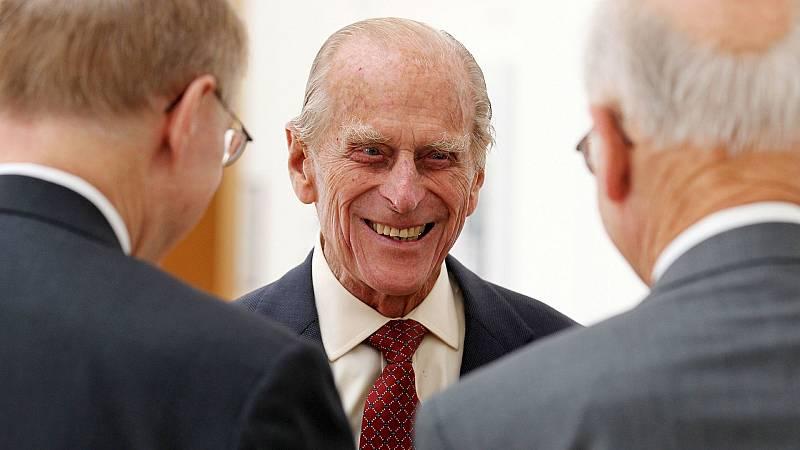 El duque de Edimburgo y marido de la reina de Isabel II, el príncipe Felipe