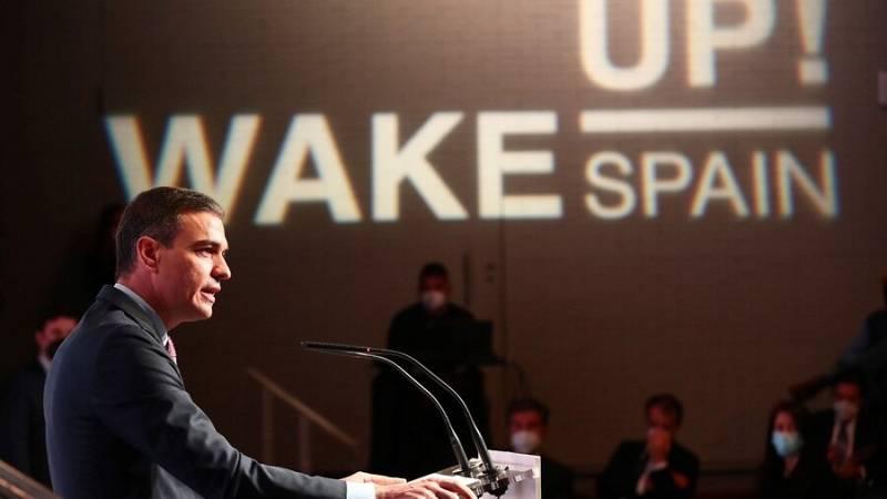 El president del Govern, Pedro Sánchez ha inaugurat el forum econòmic 'Wake Up, Spain!'