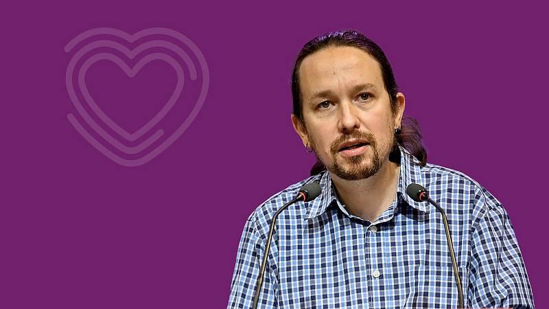 Pablo Iglesias, el candidato de Unidas Podemos a las elecciones del 4M en Madrid