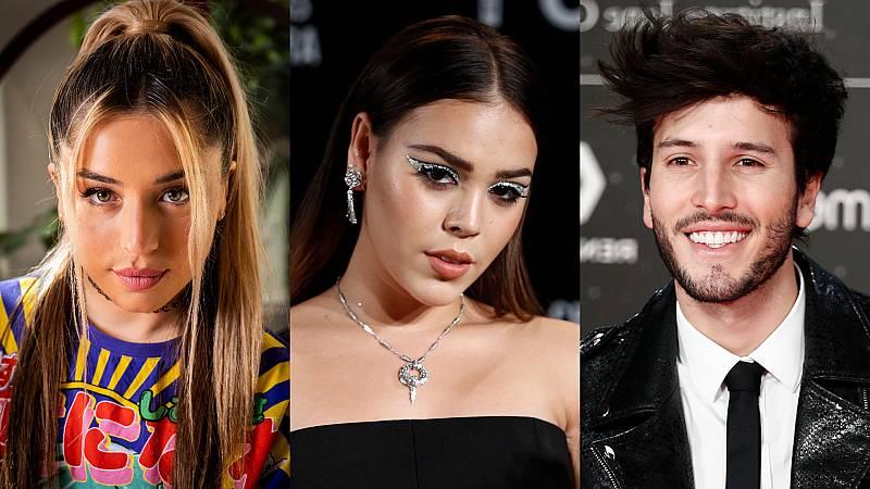 Lola Indigo, Danna Paola y Sebastián Yatra, entre las novedades