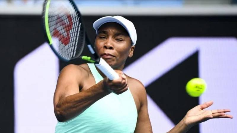 Venus Williams en una imagen de archivo.