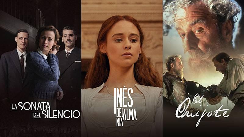 De 'Inés del alma mía' a 'El Quijote': 10 series basadas en libros que puedes ver en RTVE Digital