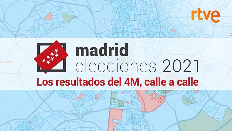 Los resultados del 4M, calle a calle