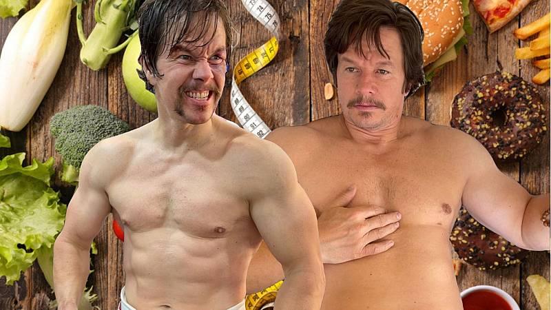 Antes y después de Mark Wahlberg