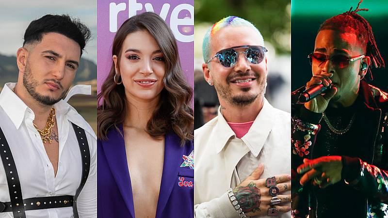 Omar Montes, Ana Guerra y J Balvin, entre las novedades
