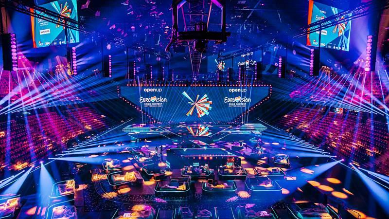 Rotterdam Ahoy acoge el escenario de Eurovisión 2021.