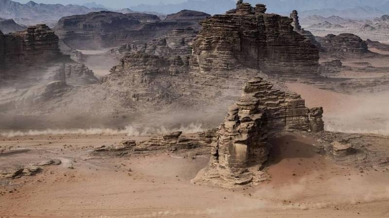 Imagen del Rally Dakar 2020 disputado en Arabia Saudí.