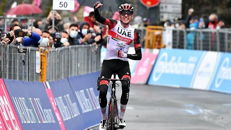 Joe Dombrowski, ganador de la cuarta etapa del Giro