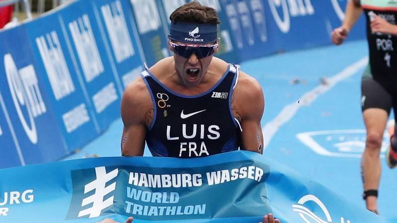 El francés Vicnent Luis, vigente campeón del mundo de triatlón y defensor del título.