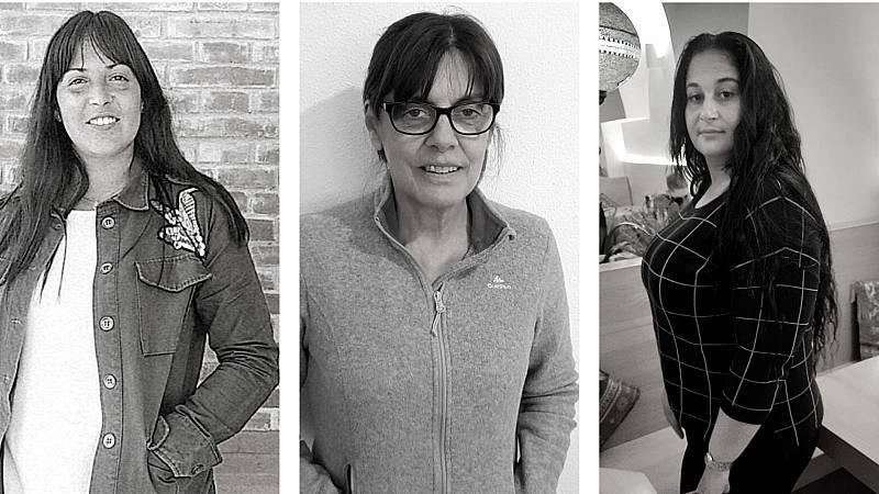 Sara, Ángeles y Hayat: tres supervivientes de la violencia de machista y luchan contra las adicciones