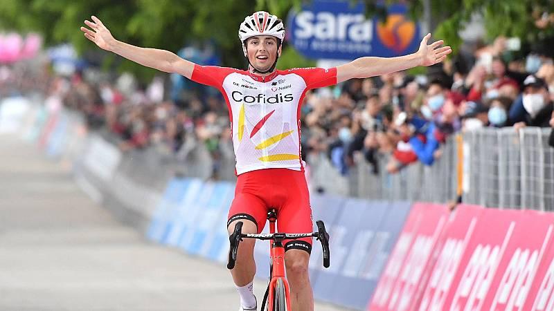 Víctor Lafay gana la etapa 8 del Giro de Italia
