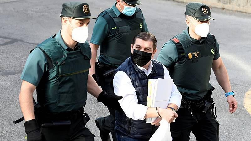 El acusado César Román, conocido como el 'Rey del cachopo'
