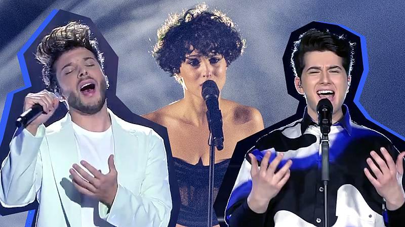 Los tres artistas han puesto la banda sonora al programa de Rocío Carrasco