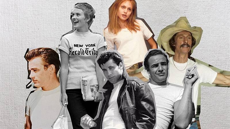 La camiseta blanca en el cine: estilo y rebeldía