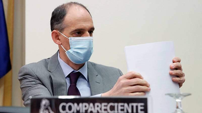 El inspector jefe de la Policía Nacional y responsable de la investigación sobre la trama Gürtel Manuel Morocho en una comparecencia en la comisión del Congreso que investiga la operación Kitchen